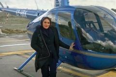 ناگفتههای تنها خلبان زن بالگرد در ایران؛ از خانهداری تا پرواز