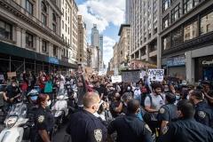 سکوت برخی کشورهای عربی در مقابل اعتراضات آمریکا