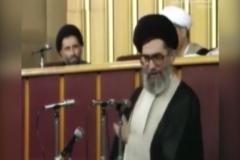 لحظهای که آیتالله خامنهای بعنوان رهبر انقلاب اسلامی انتخاب شد
