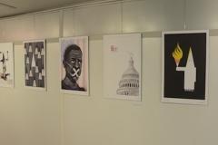 برگزاری نمایشگاه کاریکاتور با عنوان «نمیتوانم نفس بکشم»