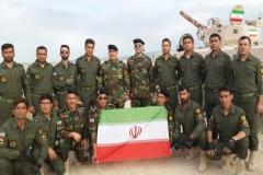 عنوان سوم مسابقات نظامیان جهان در چین به ایران رسید