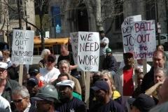 نیویورک تایمز: شمار بیکاران در آمریکا به حدود ۴۰ میلیون نفر رسید