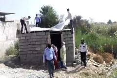 تخریب منزل در بندرعباس